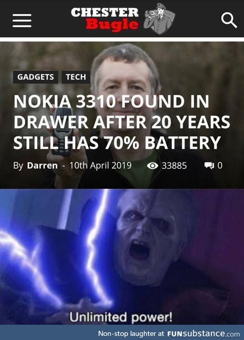 Nokia never disappoints