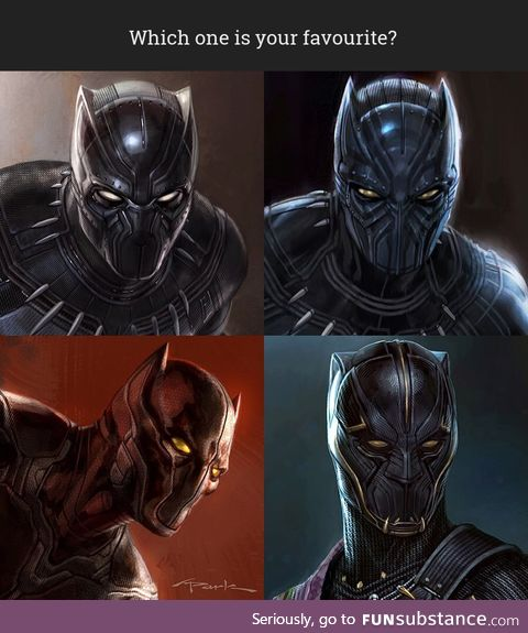 Unseen Concept Images of Black Panther's Mask