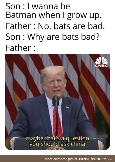 Let the bats alone
