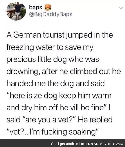 This guy saves animals for a living