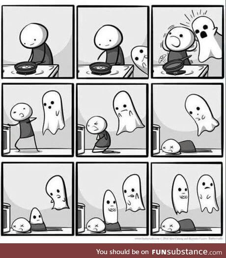 The reason why ghosts never kill you