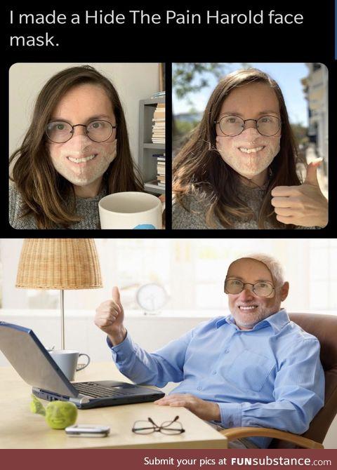 Harold will not be mocked