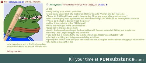 Anon hates normies