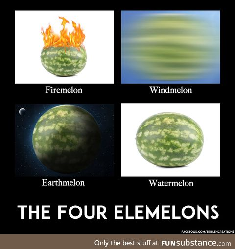 The four elemelons
