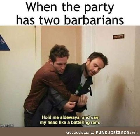 Two barbarians