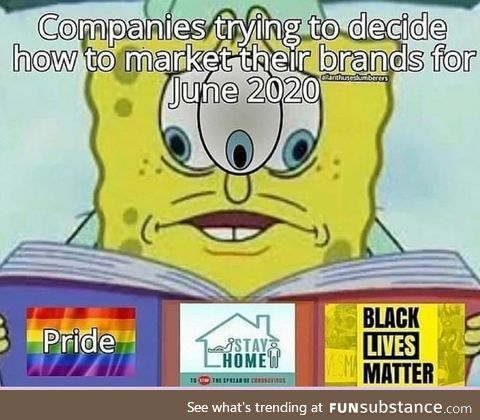 Stay at home for BLM pride month ????️????????????
