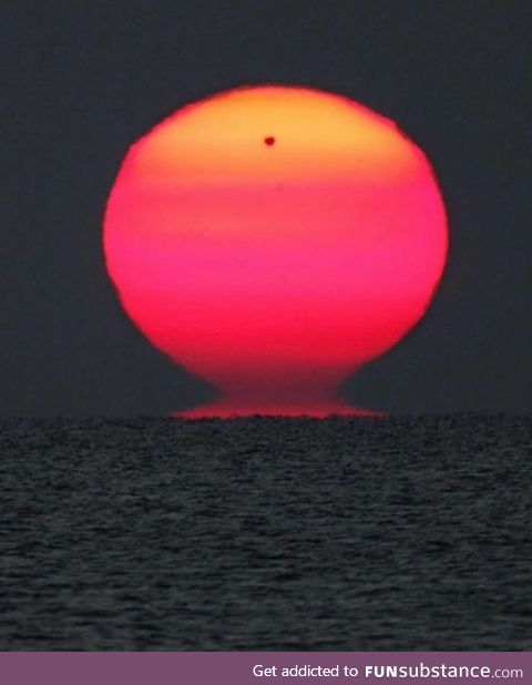This dramatic view across the Black Sea finds Venus rising with the Sun, 108.2 million km