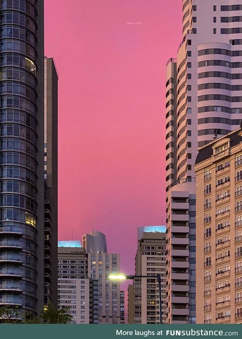 Sunset, buenos aires (no filters)