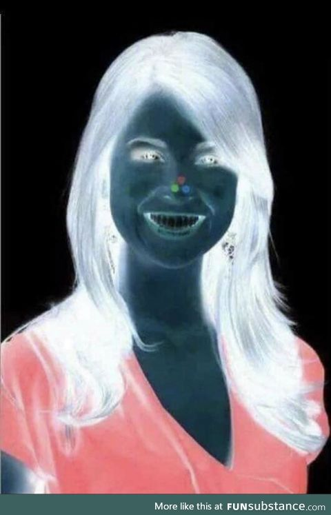 Look at Red Dot for 30 Seconds. Then Look at a Blank Wall