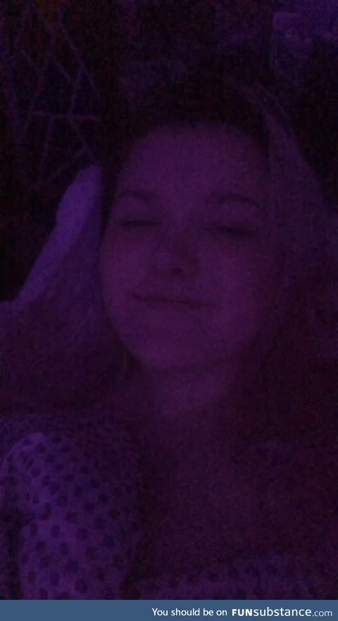 Late night, grainy quality but I love you guys anyways