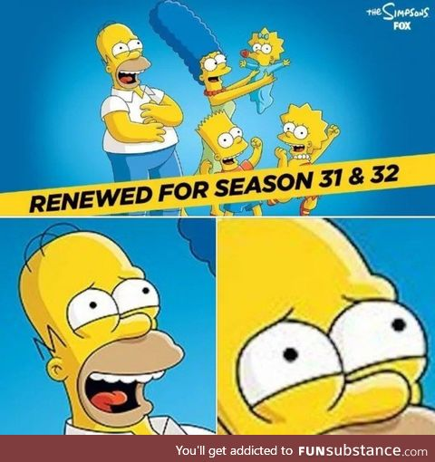 Homer is suffering