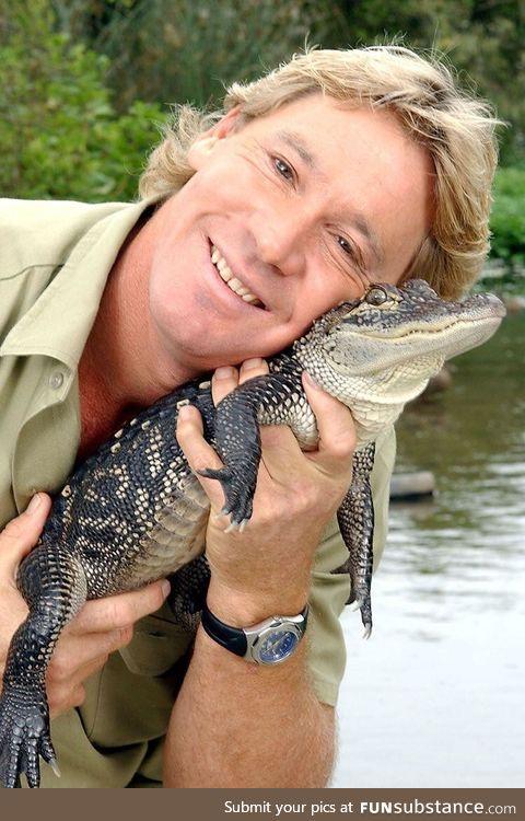 On this day in 1962 Stephen Robert Irwin was born in Australia