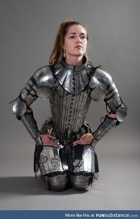 Stainless Women's Armor Set