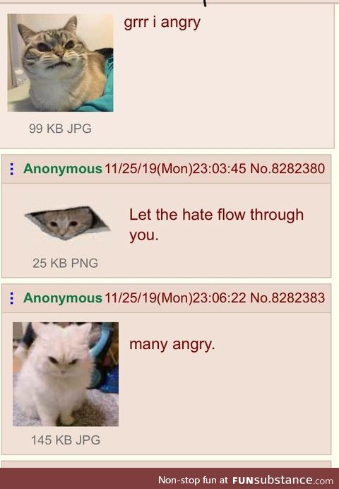 Anon is angrey