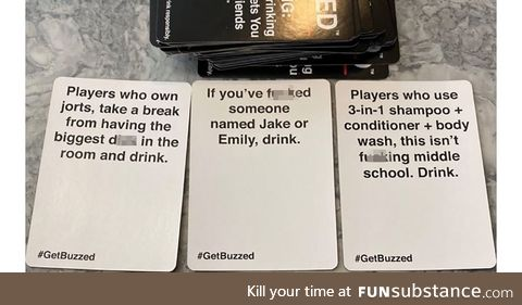 BUZZED is the most savage and hilarious drinking game to make the holidays more fun