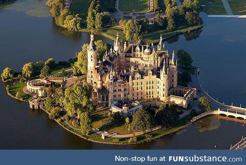 Scherwin Castle in Scherwin, Germany