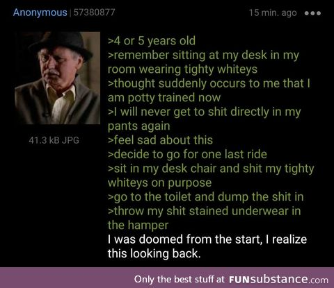 Anon was doomed from the start