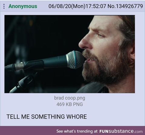 Anon improves A Star is Born