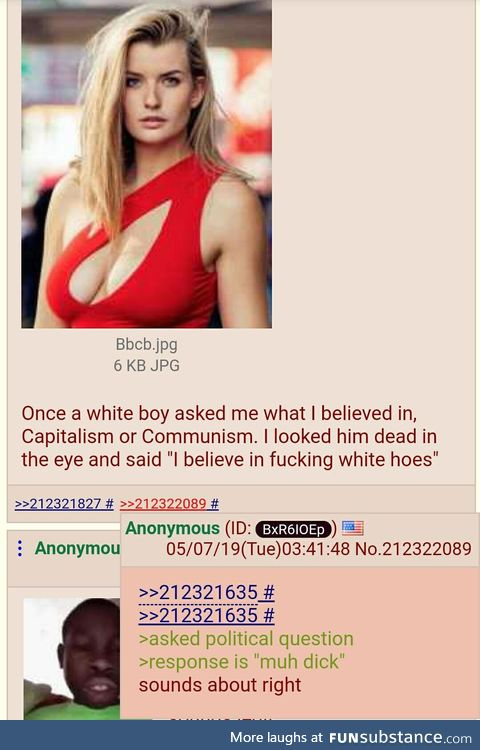 Anon gets political