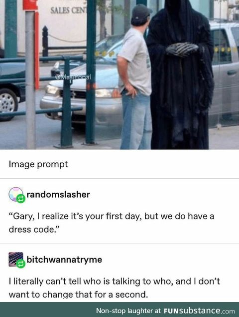 Things were looking grim for Gary