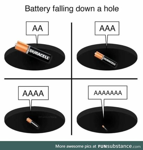 Why would a battery yell