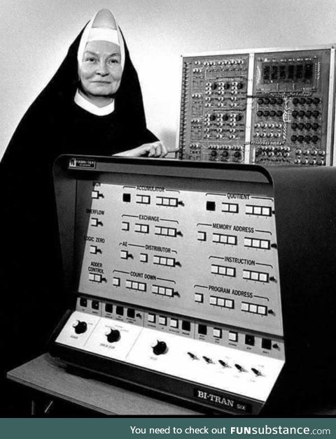 Sister Mary Kenneth Keller the first woman to earn a doctorate in computer science in the
