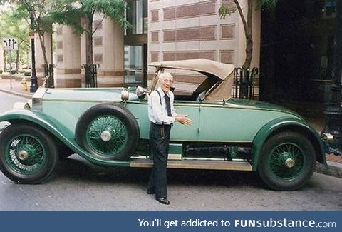 102 year old man drove the same car for 82 years