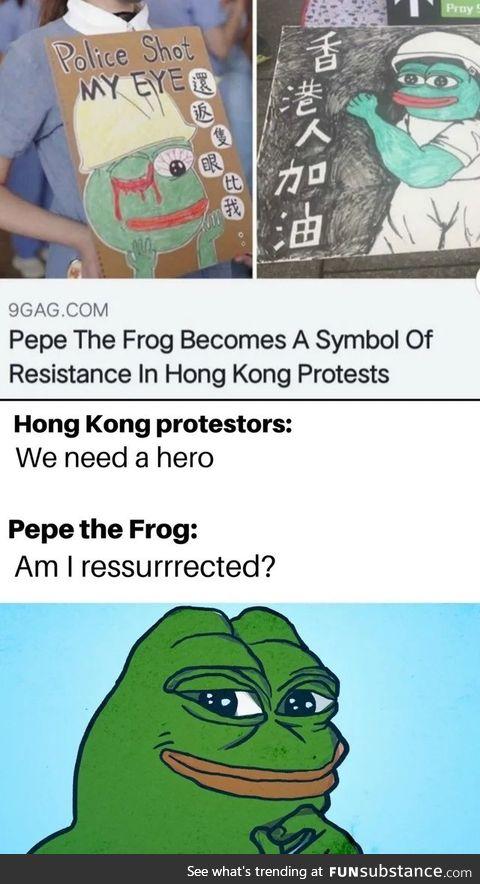 Pepe returns
