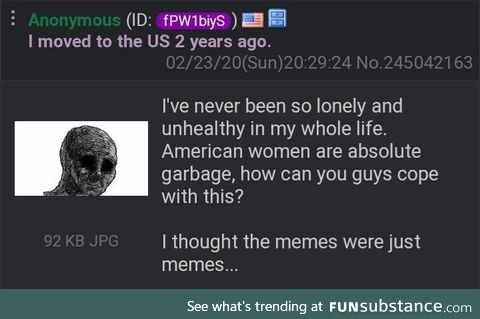 Anon is settling in just fine