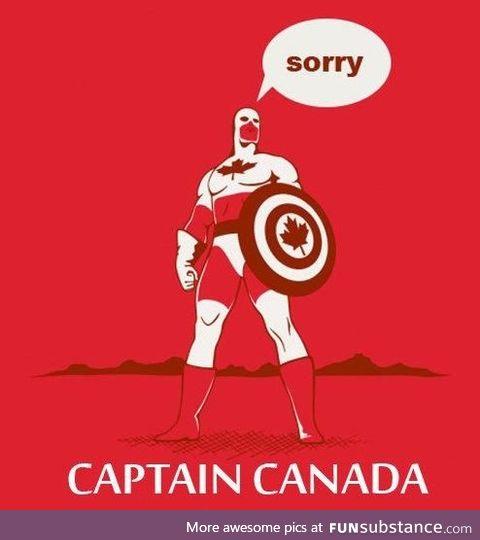 Happy Canada Day from Captain Canada!