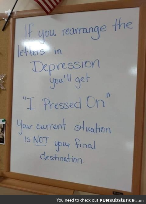 A teachers friendly reminder