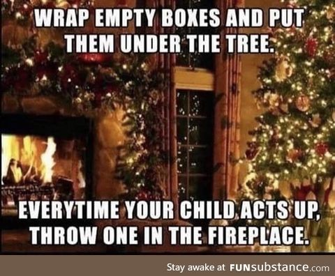 Christmas parenting tip for you all