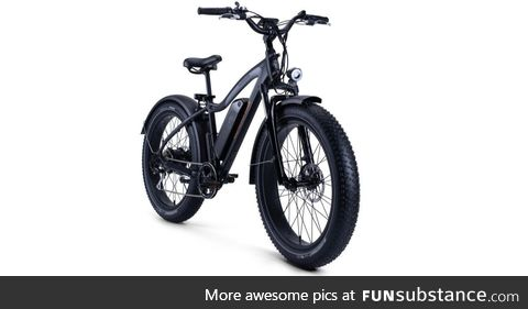 Hills don't stand a chance. Meet the RadRover Electric Fat Bike. The go anywhere, do