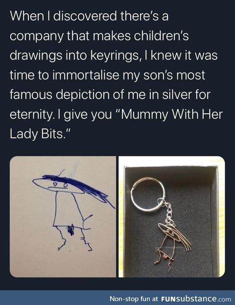 Immortalised in silver for all of eternity!
