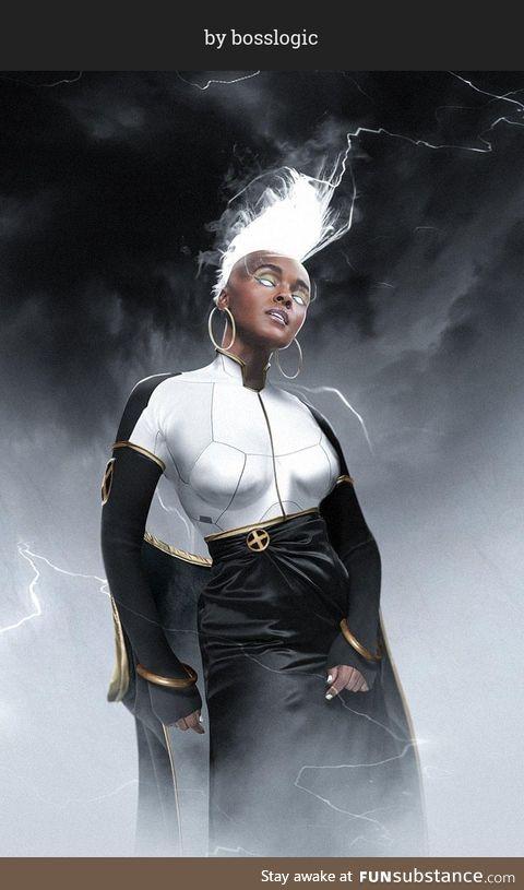 Do you like Janelle Monae as Storm ?