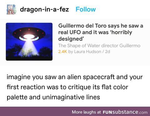 The aliens need to up their game