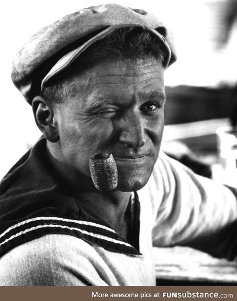 Robin Williams as Popeye (1980)