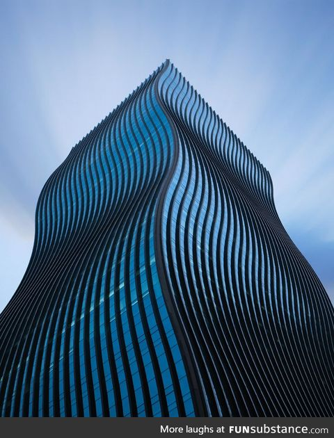 The wavy building in Seoul called the GT tower!
