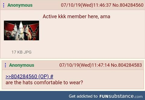 Anon asks good question