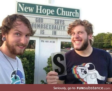 Blasphemy - A ticket to hell never looked funnier