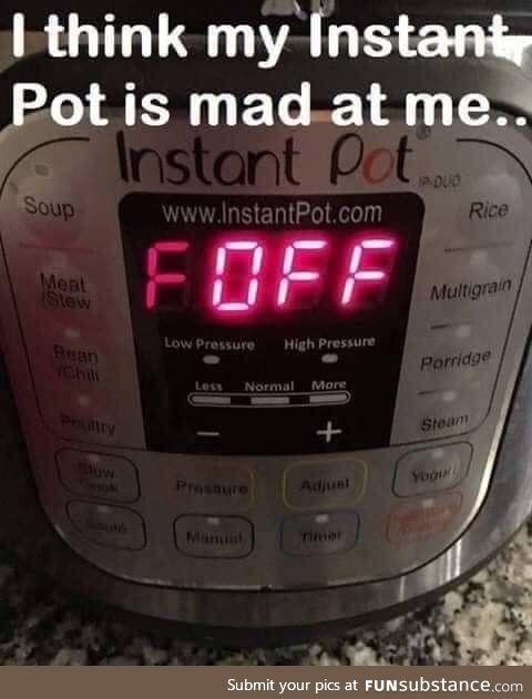 Instant pot jokes!
