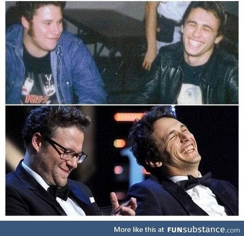 James Franco is still laughing at that joke Seth told him 15 years ago