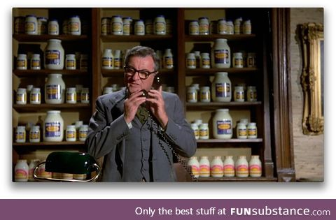 Must have seen Airplane! 100 times and never noticed the background at the Mayo Clinic