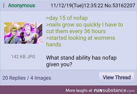 Anon gains a Stand