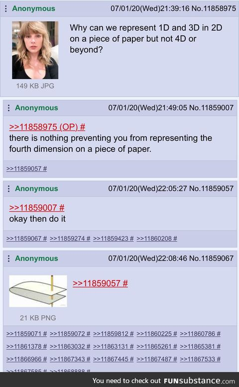 Anon does the impossible