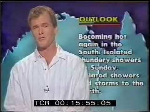 Australia's best weatherman before he left my local station to go national.
