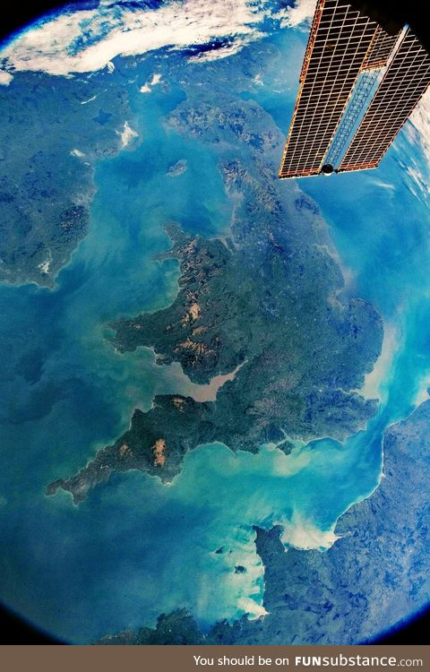 UK from space!