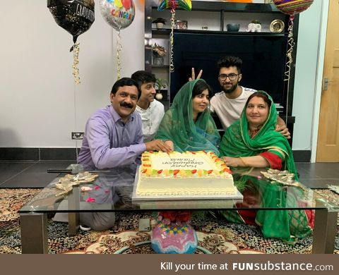 Malala completed her degree