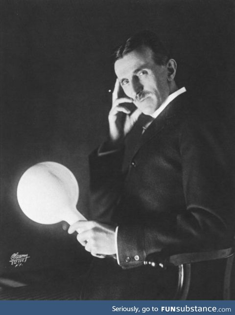 Happy birthday to Nikola Tesla, one of the greatest minds to ever live