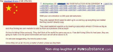 They are basically Nazi Germany with 15X the land area, 18X the population, with all the